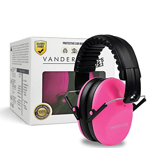 Paraorecchie per bambini Vanderfields - Cuffie protettive per le orecchie per bambini, donne, giovani adulti (Stile Pieghevole Delle Cuffie)