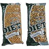 Veer's Diet Combo Chana 400g Pack Of 2 (Chana Black And Chana Plain)