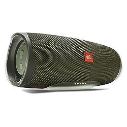 JBL Charge 4 Bluetooth-Lautsprecher - Wasserfeste, portable Boombox mit integrierter Powerbank - Mit nur einer Akku-Ladung bis zu 20 Stunden kabellos Musik streamen Grün