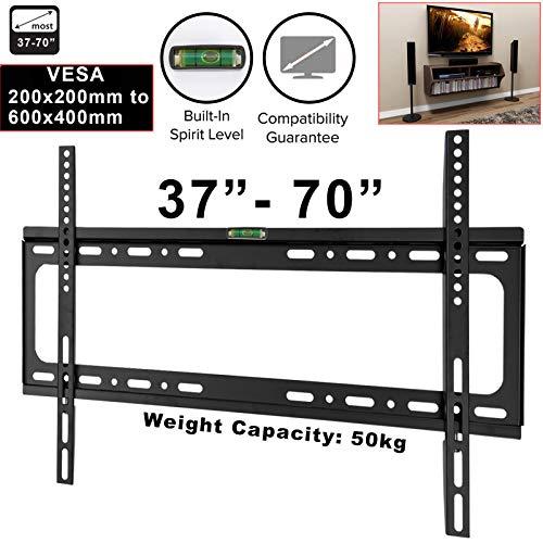 TV-Wandhalterung für 37/40 / 42/46 / 48/55 / 60/65 Zoll (17,8 cm), Plasma/LCD/VESA