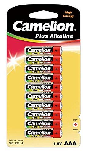 Galleria fotografica Camelion LR 03 Micro Plus-Batterie alcaline AAA, confezione da 10 pezzi