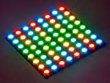 DIGI-DOT PANEL 8X8 HD MIT 64 X WS2812B-LEDS