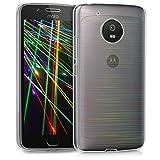 kwmobile 41084.07 Funda para teléfono móvil 14 cm (5.5') Transparente - Fundas para teléfonos móviles (Funda, Motorola, Moto G5, 14 cm (5.5'), Transparente)