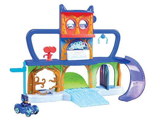 PJ Masks - Playset Base Secreta, Versión en Ingles (Bandai 24561)