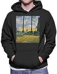 Cloud City 7 Van Gogh Masters Collection Inspired Mens Hooded Sweatshirt