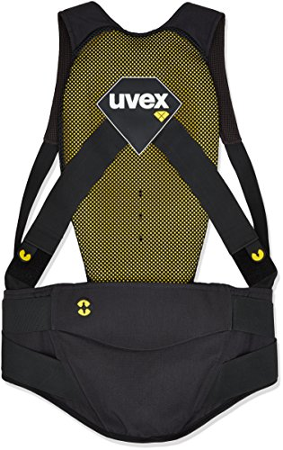 Uvex Herren Back Pure Skiprotektor, Dark Grey, XXL
