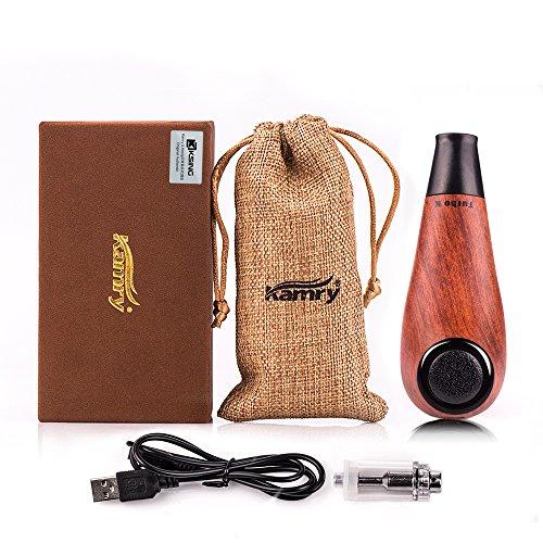 Kamry Elektronische Zigarette Turbo Mini Body Fashion Style, 35W 1000mAh nachladbare riesige Dampf-hölzerne klassische E-Rohr mit Geschenk-Paket (Rot)