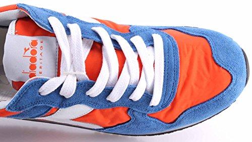 Diadora Trident Nyl Sw, Pompes à plateforme plate mixte adulte Arancione