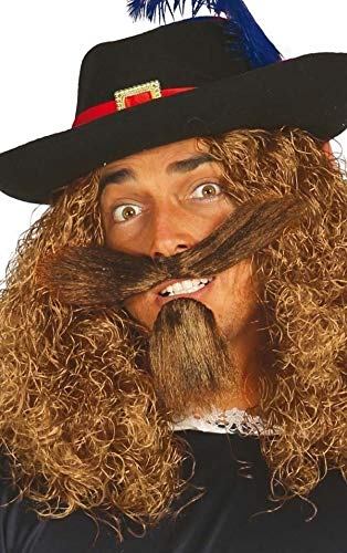 Herren Braun Selbstklebend Aufkleben Falsch Künstlich Schnurrbart Oberlippenbart & Spitzbart Bart Kostüm Kleid Outfit Zubehör - Spitzbart Und Schnurrbart Kostüm