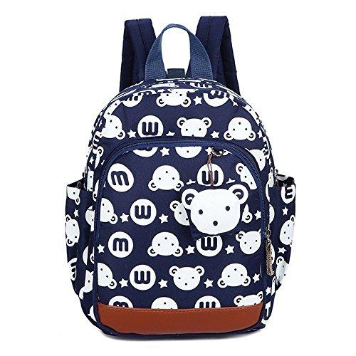 Imagen de fristone  infantil bolsa de escuela pequeña bebes guarderia bolsa,azul oscuro