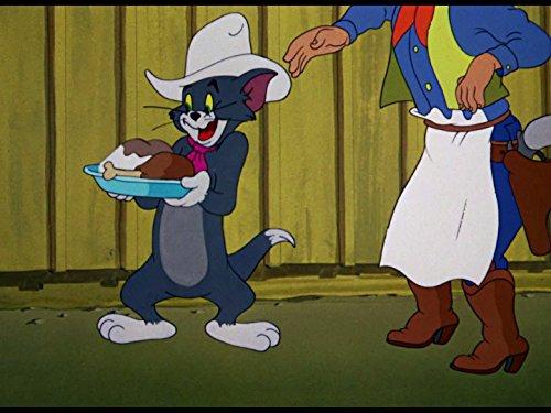 Tom als fauler Cowboy