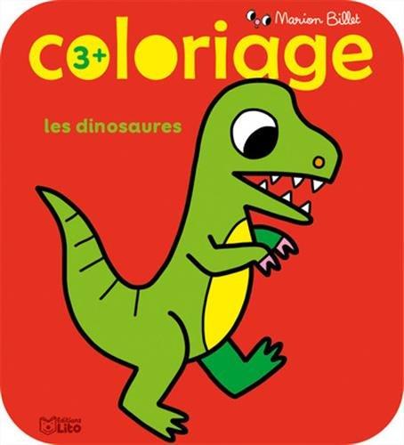 Coloriage des tout-petits: Les dinosaures - Dès 3 ans