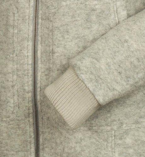Bergans myrull Jacket Giacca in Pile, Grey Melange (Taglia: S)