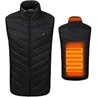 Dosoger USB Sleeveless Electric Heated Vest Hot Winter Thermal Heated Pad Clothing Physiotherapy Heating Coat Body Warmer
