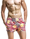 SEOBEAN Herren Badehose Badeshorts Board Shorts Strand Shorts (XS(25-27'), 2838)