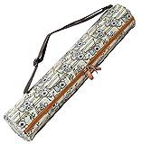 Yogatasche »Sunita« von #DoYourYoga aus hochwertigem Canvas (Segeltuch), aufwendig verarbeitet, für extra große Yogamatten und...