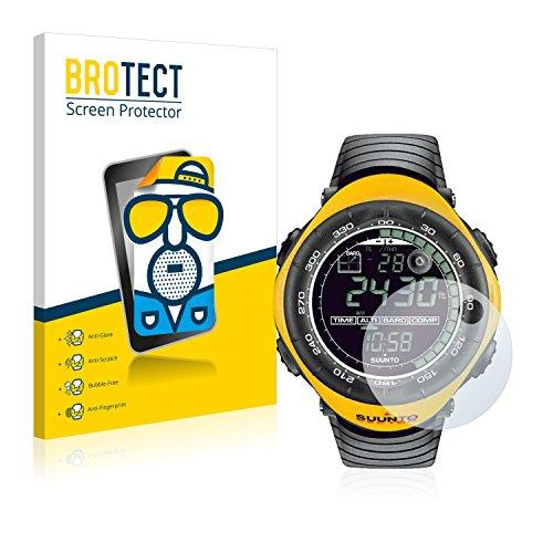 brotect 2X Entspiegelungs-Schutzfolie kompatibel mit Suunto Vector Yellow Displayschutz-Folie Matt, Anti-Reflex, Anti-Fingerprint