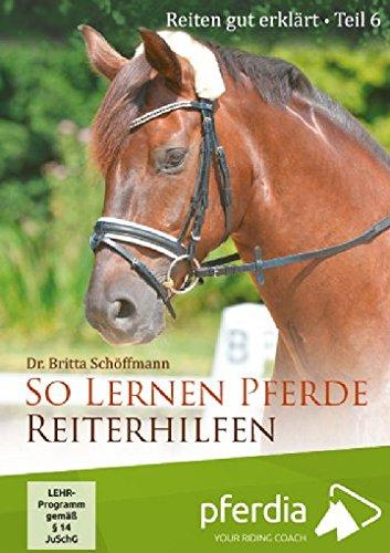 Reiten gut erklärt Teil 6: So lernen Pferde Reiterhilfen (Dr. Britta Schöffmann)