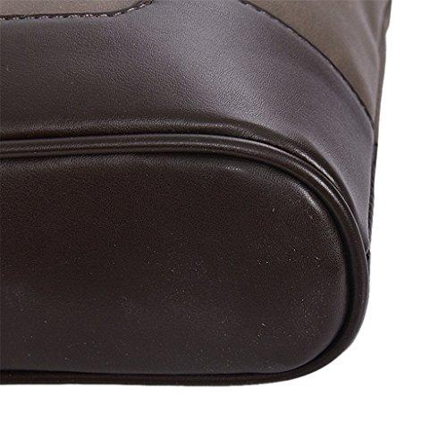 SUNLONG , Sac pour homme à porter à l'épaule Noir noir taille unique marron