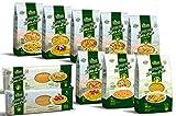 Pasta d'oro Kennenlernpaket - 10 x 500 g glutenfreie Nudeln aus Maismehl
