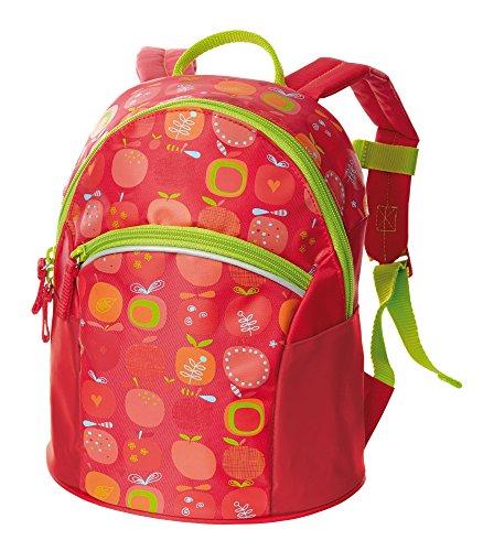 sigikid, Mädchen, Kinder Rucksack klein, Apfelherz, Rot, 24637