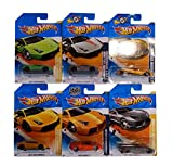Hot Wheels Pack Regalo Original 6 Lamborghini