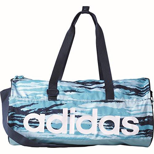 adidas Damen Linear Performance Team Sporttasche Iceblu/Conavy/White