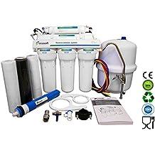5Etapa Ecosoft Deluxe doméstica sistema de purificación de ósmosis inversa con bomba