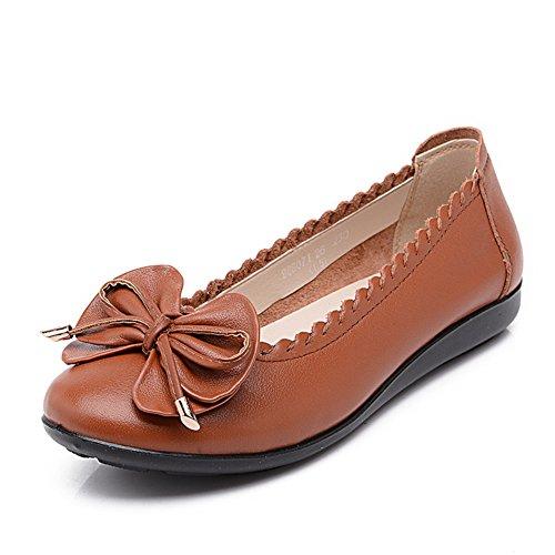Asakuchi chaussures femme/Plat douce maman d'âge moyen à la fin de la chaussure/Casual chaussures femme/Ladies Shoes C