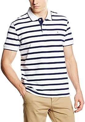 Gant Breton Stripe Pique - Polo Hombre