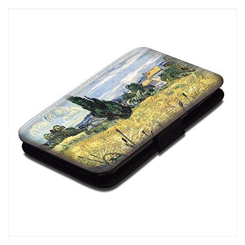 van-gogh-green-wheat-field-with-cypress-negro-cuero-de-la-pu-caso-flip-soporte-proteccion-carcasa-co