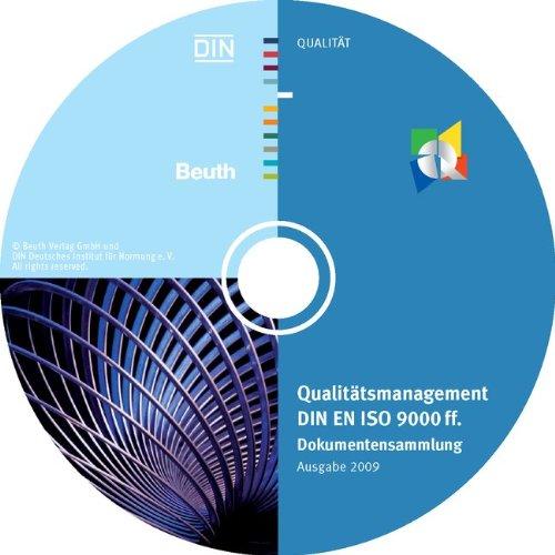 Qualitätsmanagement DIN EN ISO 9000 ff., 1 CD-ROM Dokumentensammlung, Ausgabe 2009