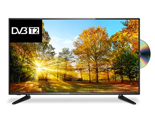 Cello C43227FT2 43-Inch Full HD LED TV with Freeview T2 HD/DVD Player and USB - Manufactured in the UK