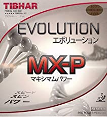 Tibhar Evolution MX-P 2.1-2.2 Table Tennis Rubber (Black)