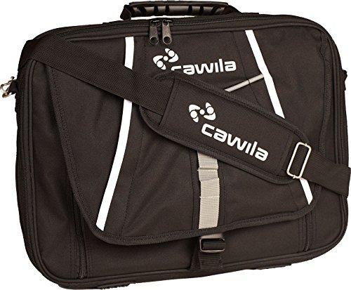 Cawila Trainertasche Trainer-Briefcase, Schwarz, M, 1 Liter, 00425244