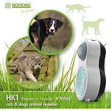 ISOTRONIC Dissuasore a ultrasuoni per gatti é i cani mobile