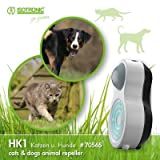 ISOTRONIC Tiervertreiber mit Bewegungsmelder gegen Katzen Hunde Hundeschreck Ultraschall...