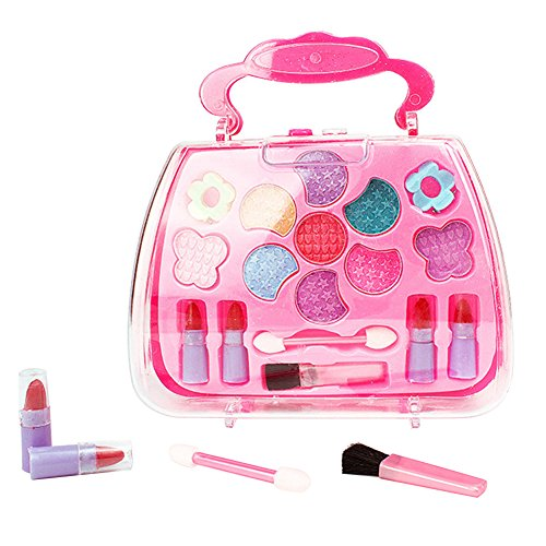 (Etbotu Make-up Schminke Spielzeug Kinder M?dchen Simulation Schminktisch Makeup Spielzeug Kosmetik Party Performances Dressing Box Set)