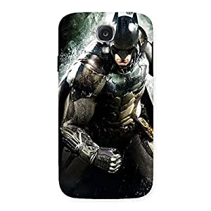 Impressive Knight Thrash Multicolor Back Case Cover for Samsung Galaxy S4