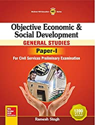 Objective Economic and Social Development: General Studies - Paper I (Old edition)