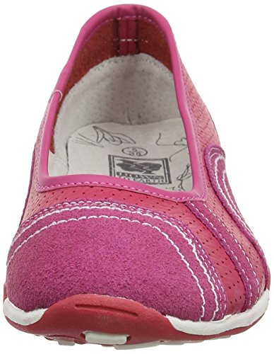 Spot On F8991, Ballerines femme Rose fuchsia