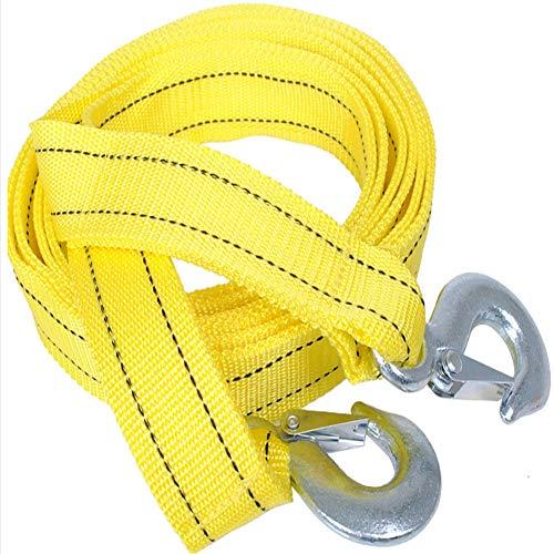 FDSEV Zweischichtiges Abschleppseil Abschleppseil, Zugseil, Robustes Seil, Seil für die Rettung selbst 5 Tonnen, 4 Meter