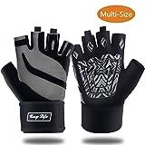 COSYLIFE Fitness Handschuhe, Superleichte Trainingshandschuhe für Damen Herren mit Adjustable...