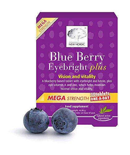 New Nordic Blueberry Mega OAD 30 Tablettes
