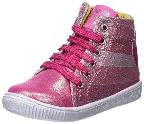 Agatha Ruiz De La Prada Mädchen 181946 Kurzschaft Stiefel, Pink (181946/A/Amz Freesia (Ultrasude)), 32 EU