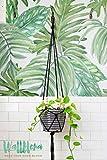 Papel pintado, diseño de hojas de m...