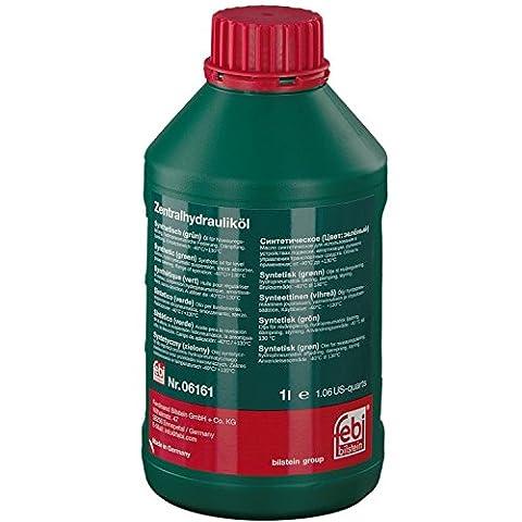 febi bilstein 06161 Hydrauliköl (synthetisch) für die Zentralhydraulik, Servolenkung und Niveauregulierung (grün) 1 (Flex Servolenkung)