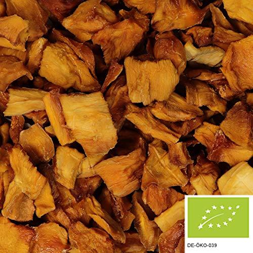 1kg BIO Mango getrocknet, ungeschwefelt und ungezuckert - getrocknete BIO Mangostreifen ohne Zucker (Bio-trockenfrüchte)