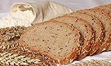 Nur 1,1g/100g Kohlenhydrate! Fitter ins Leben Low Carb Helles Körner Eiweißbrot Brotbackmischung - perfekt für die LowCarb-Diät - vegan - Eiweiß 33g/100g