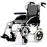 Roma Medical Orbit 1330 Deluxe Folding Lightweight Aluminium Transit Wheelchair